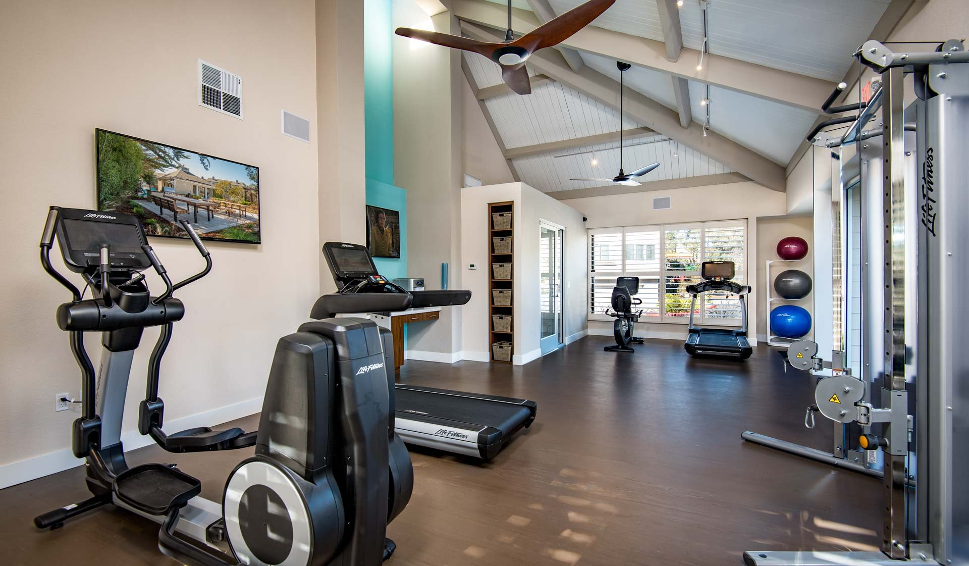 Pacifica Park Apartments - Fitness Center - Pacifica, CA