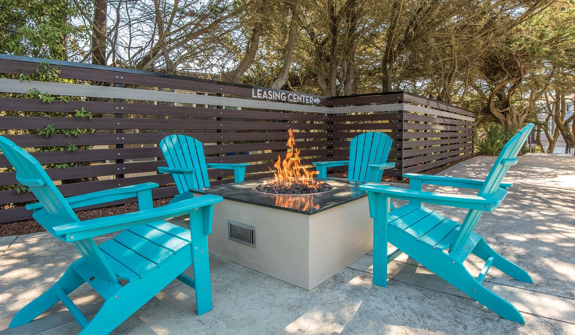 Pacifica Park Apartments - Fire Pit - Pacifica, CA